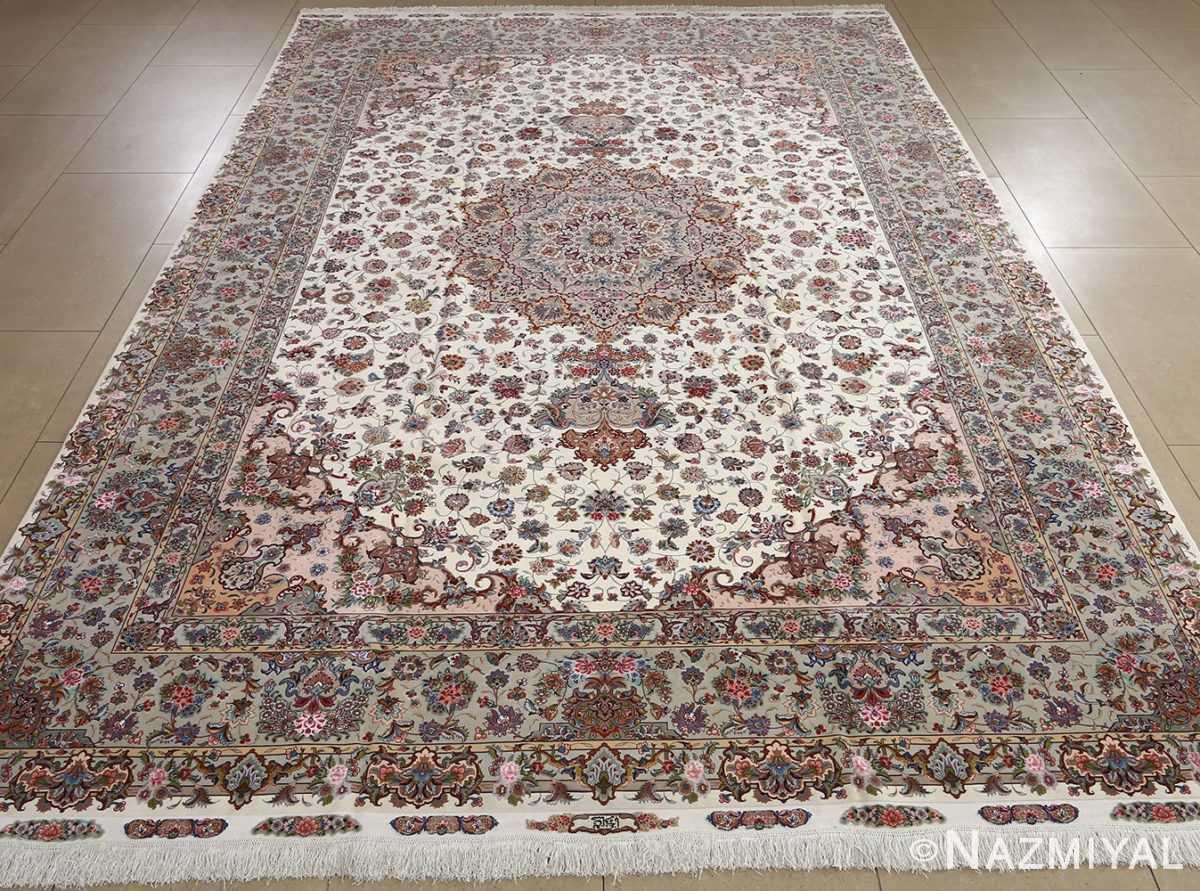 fine gharebaghi vintage tabriz persian rug 51030 full Nazmiyal
