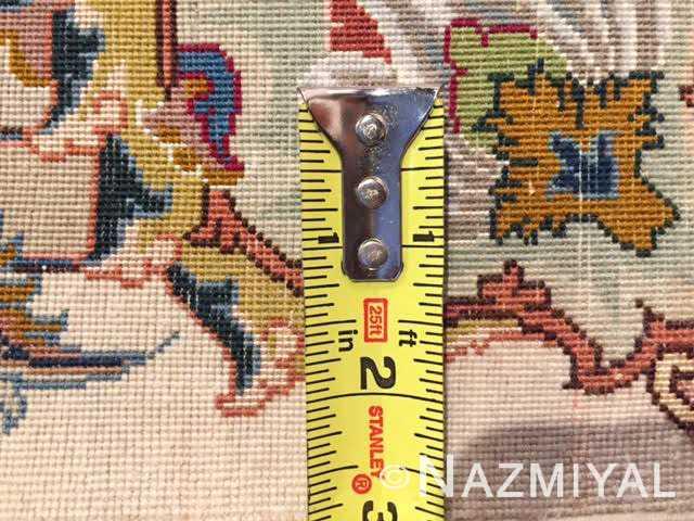 fine gharebaghi vintage tabriz persian rug 51030 knots Nazmiyal