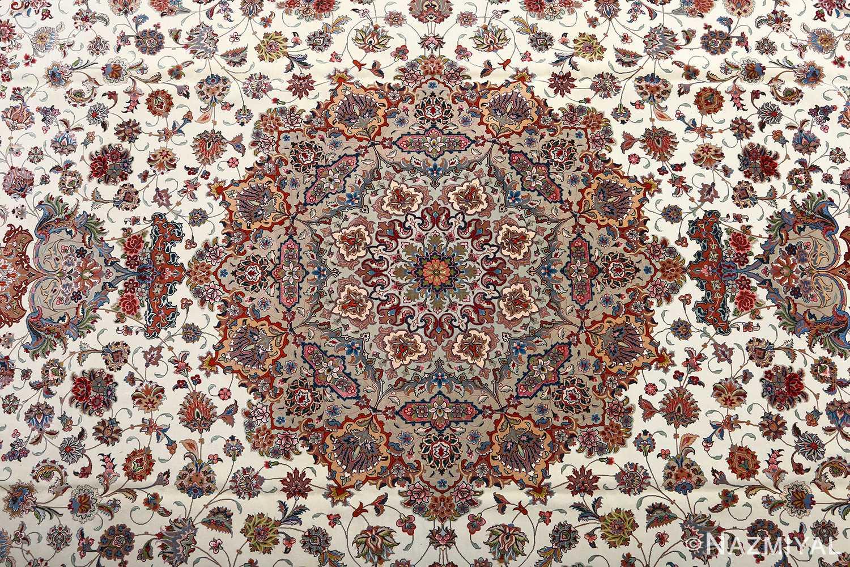 fine gharebaghi vintage tabriz persian rug 51030 medallion Nazmiyal