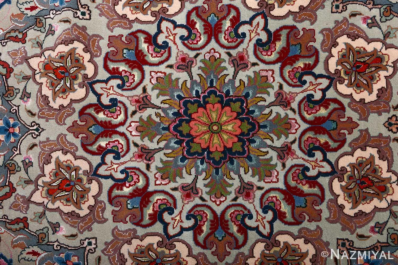 fine gharebaghi vintage tabriz persian rug 51030 orange Nazmiyal