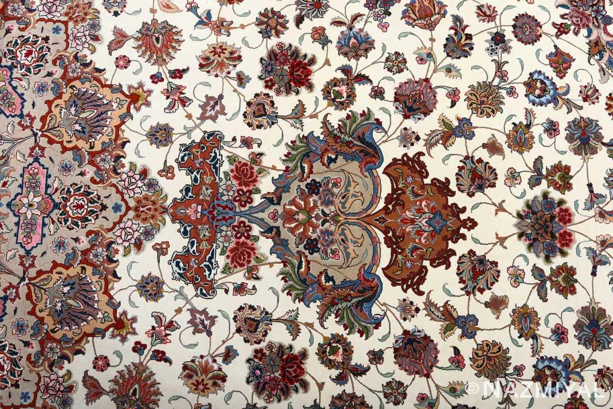 fine gharebaghi vintage tabriz persian rug 51030 vase Nazmiyal