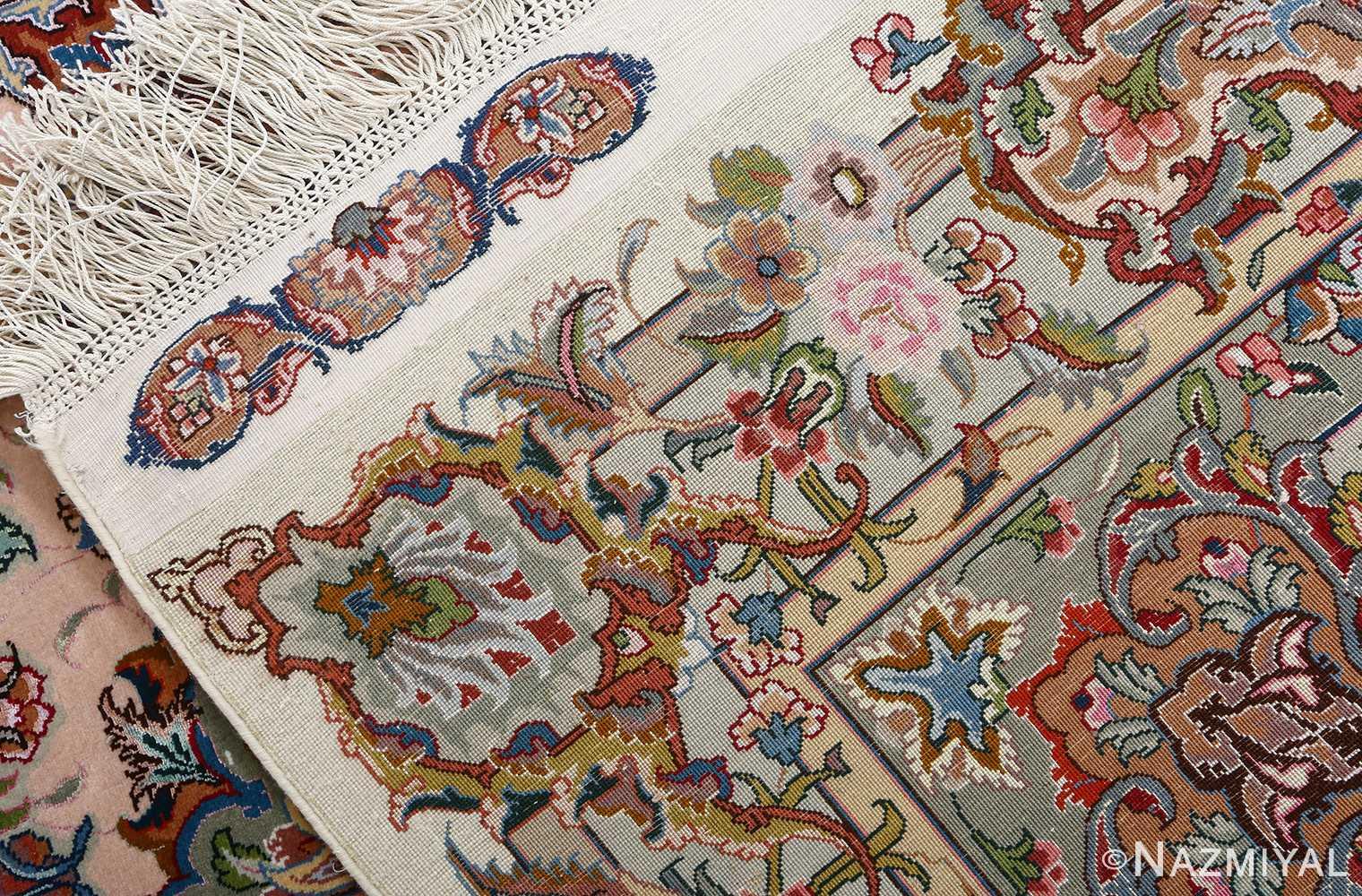 fine gharebaghi vintage tabriz persian rug 51030 weave Nazmiyal
