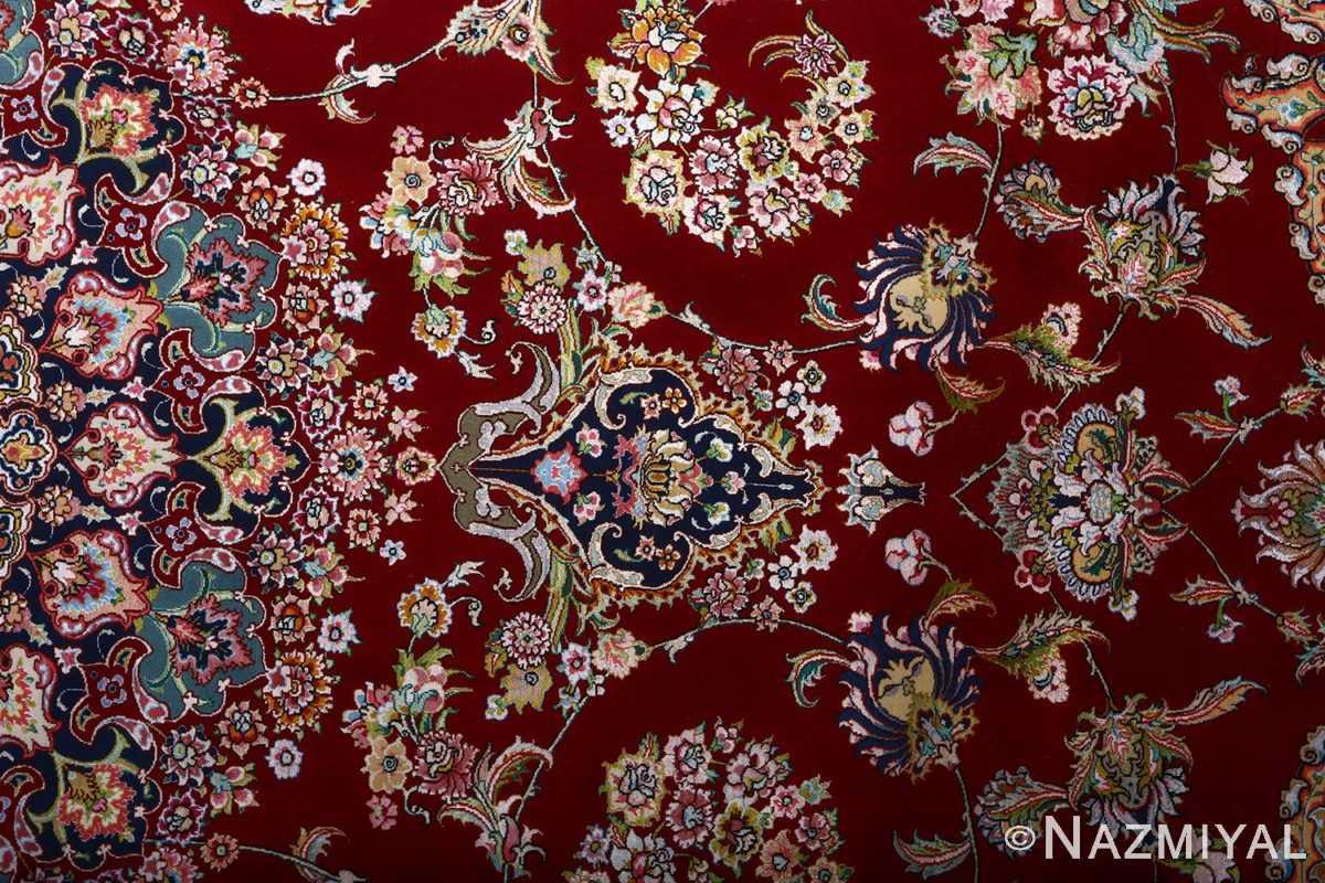 fine gharebaghi vintage tabriz persian rug 51031 top Nazmiyal
