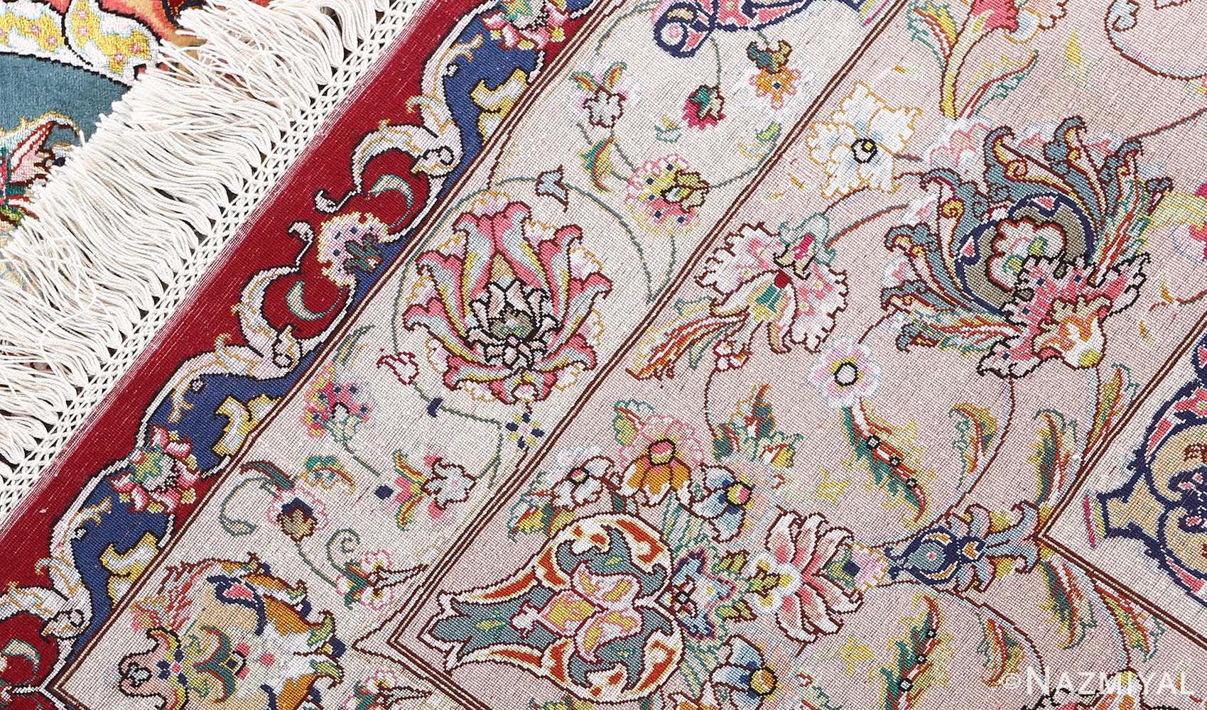 fine gharebaghi vintage tabriz persian rug 51031 weave Nazmiyal