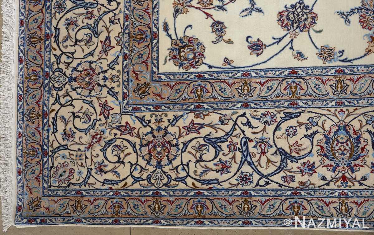 fine habibian vintage nain persian rug 51024 nazmiyal corner