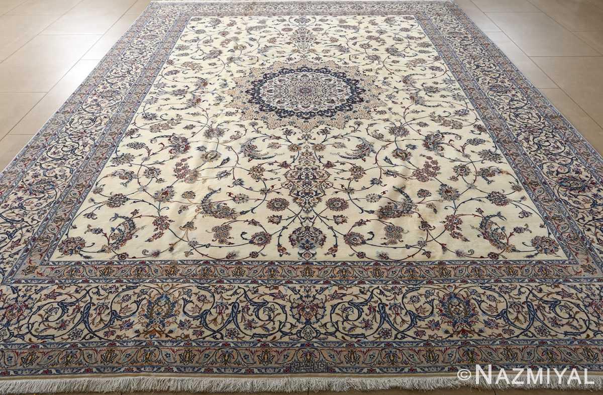 fine habibian vintage nain persian rug 511024 nazmiyal field