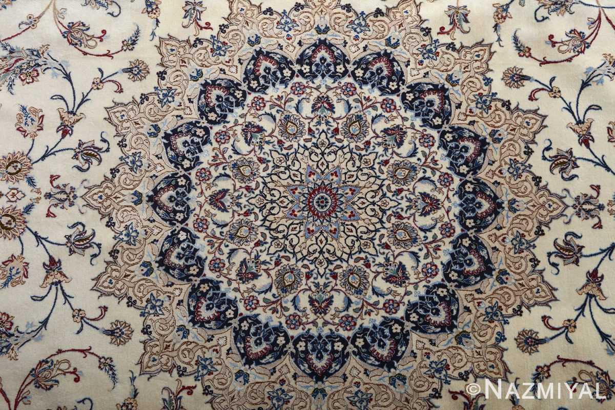 fine habibian vintage nain persian rug 51024 nazmiyal medallion