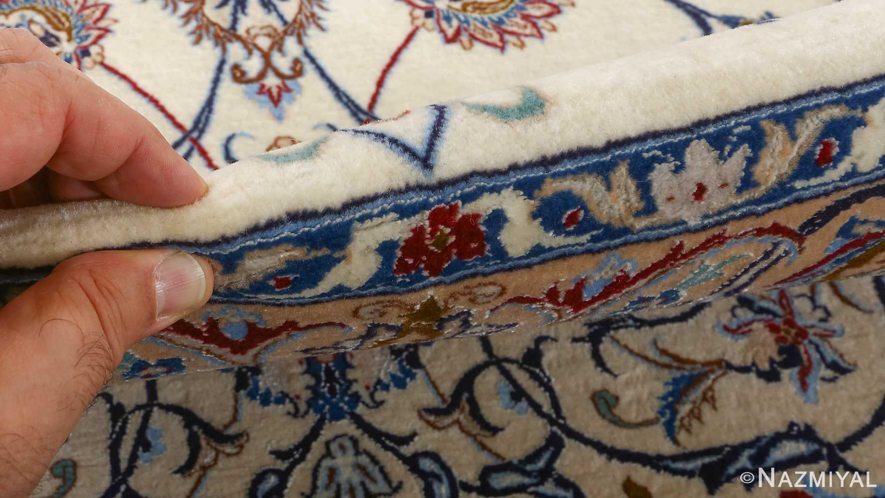 fine habibian vintage nain persian rug 51024 nazmiyal pile