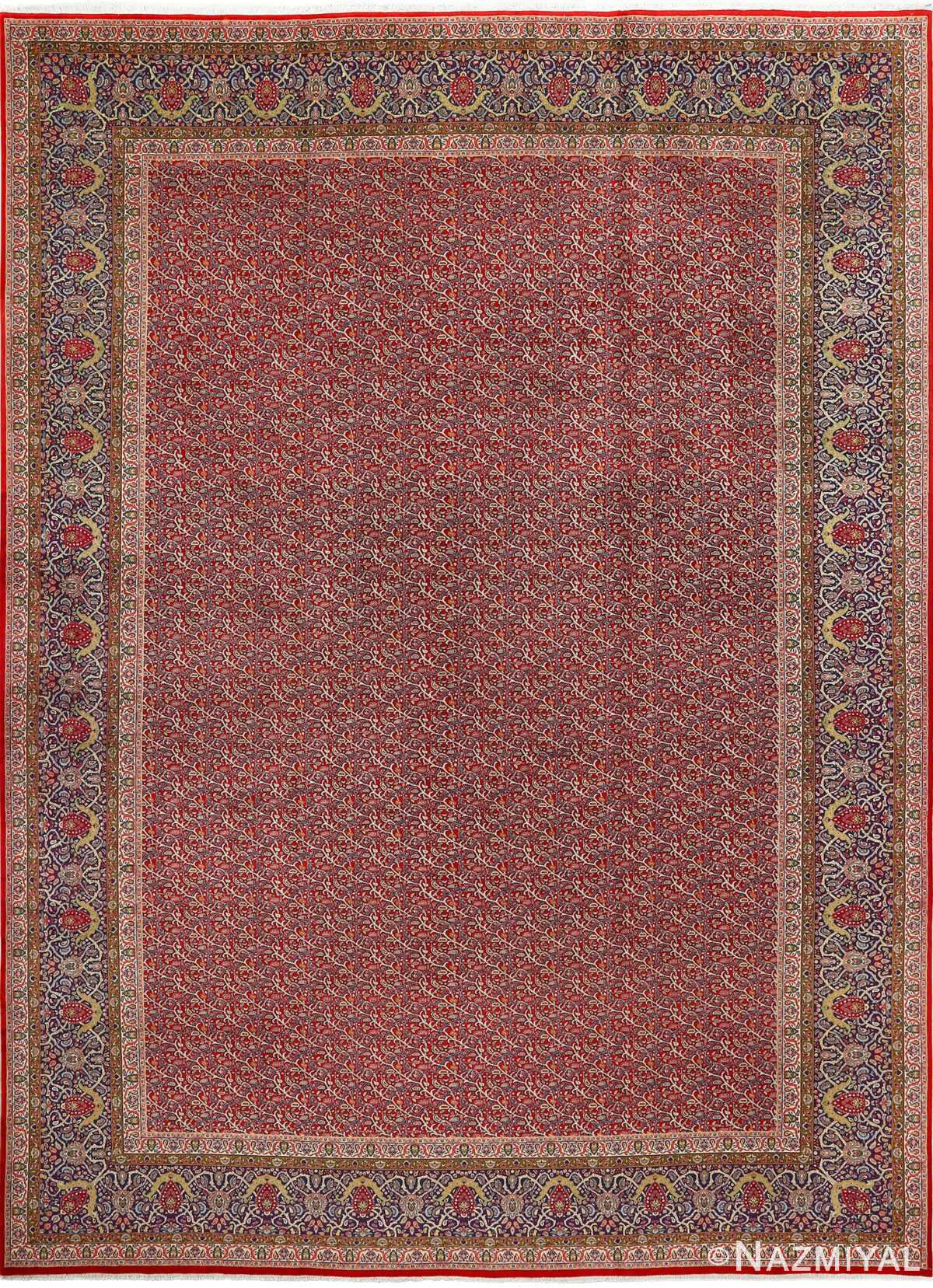 fine kork vintage tabriz persian rug 51041 Nazmiyal