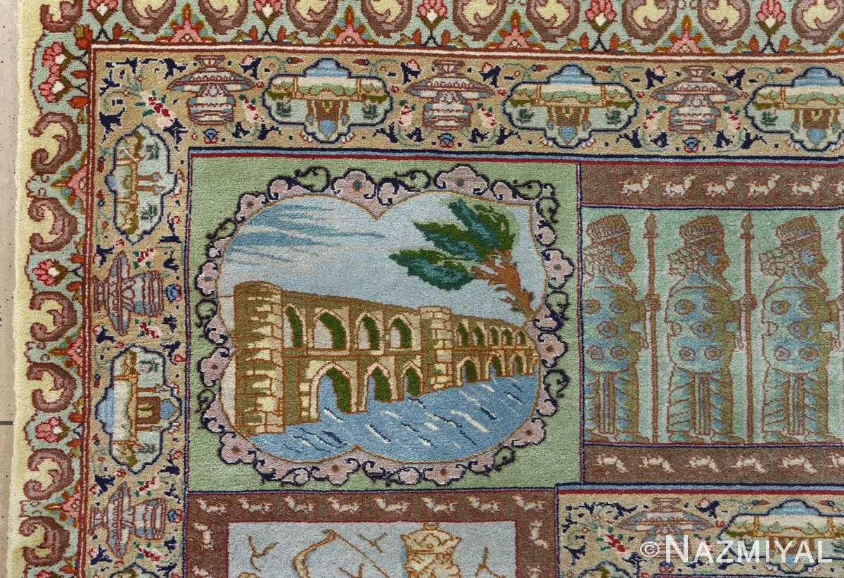 fine kork wool vintage tabriz persian rug 51033 nazmiyal 33pol