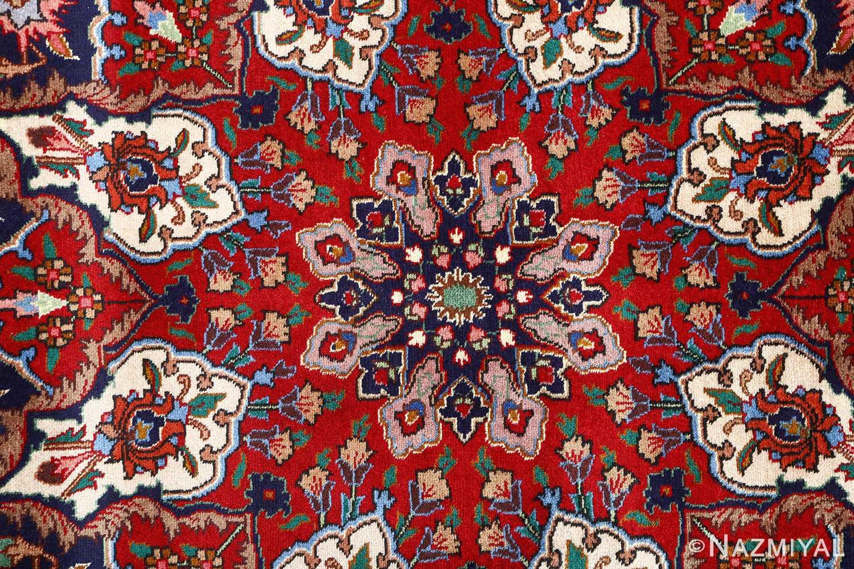 fine large vintage tabriz persian rug 51040 center Nazmiyal