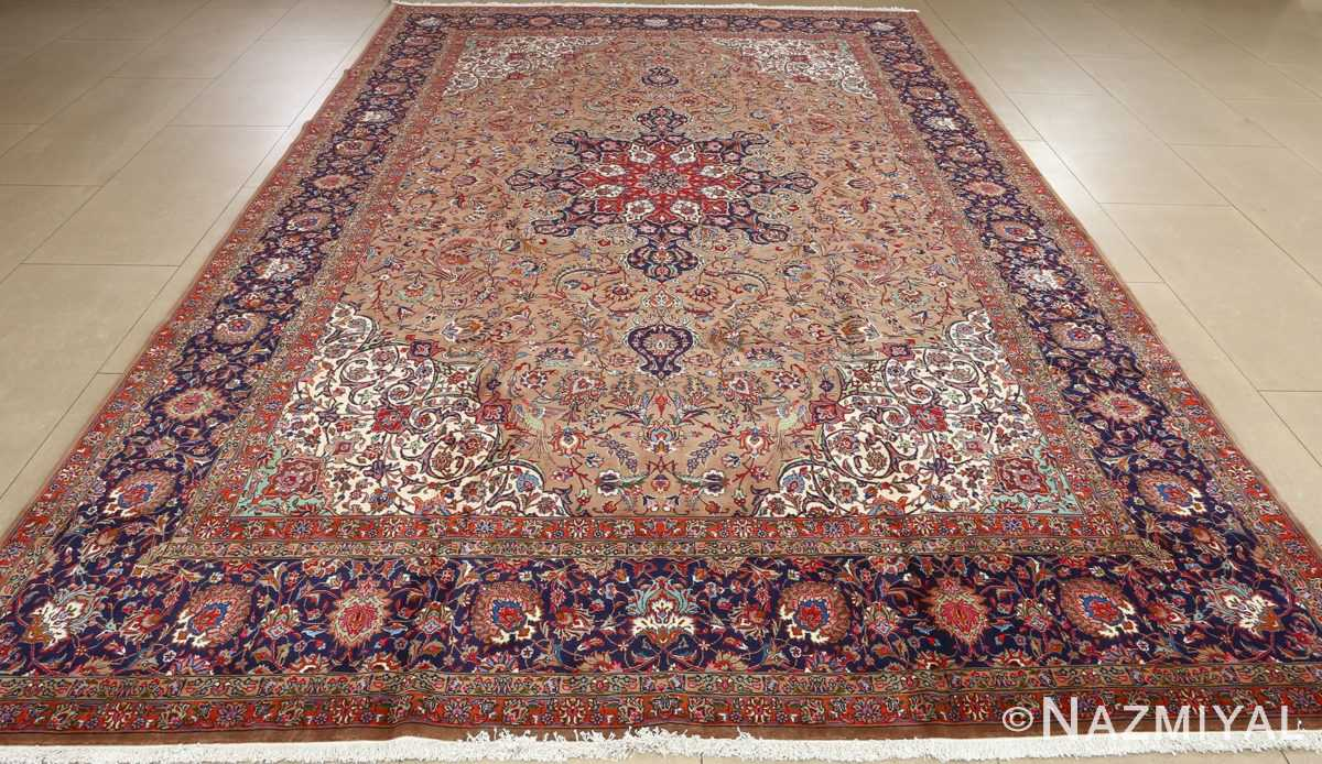 fine large vintage tabriz persian rug 51040 full Nazmiyal