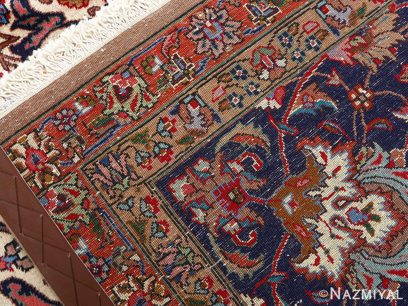 fine large vintage tabriz persian rug 51040 weave Nazmiyal