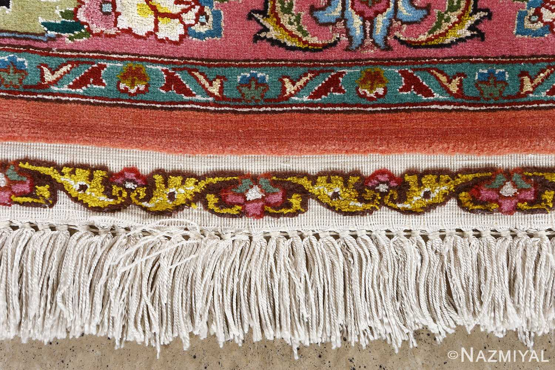 fine pournami vintage tabriz persian rug 51025 nazmiyal fringe
