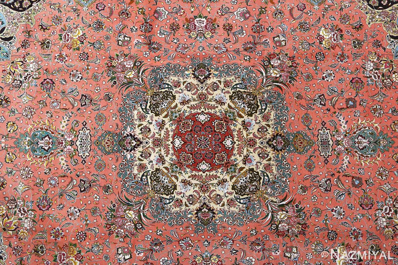 fine pournami vintage tabriz persian rug 51025 nazmiyal medallion