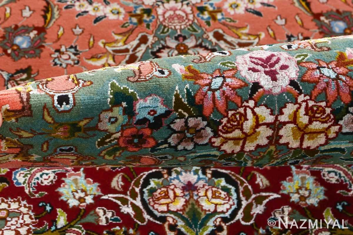fine pournami vintage tabriz persian rug 51025 nazmiyal pile