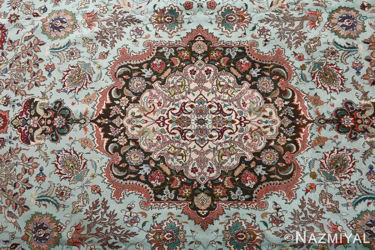 fine samadi vintage tabriz persian rug 51037 medallion Nazmiyal
