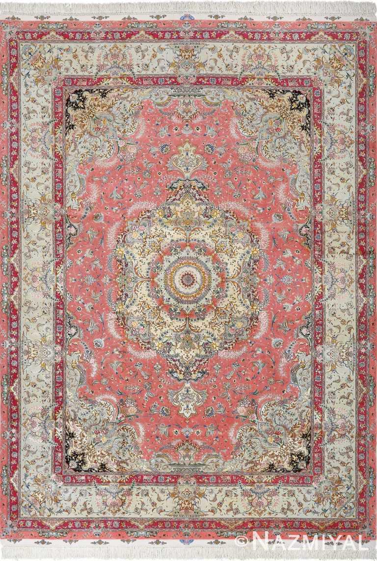 fine shadkam vintage tabriz persian rug 51032 Nazmiyal