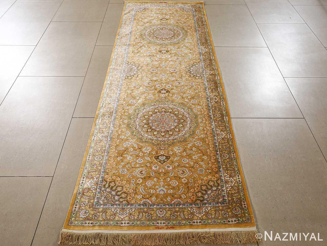 fine shahsavarpour design vintage tabriz persian rug 51044 full Nazmiyal