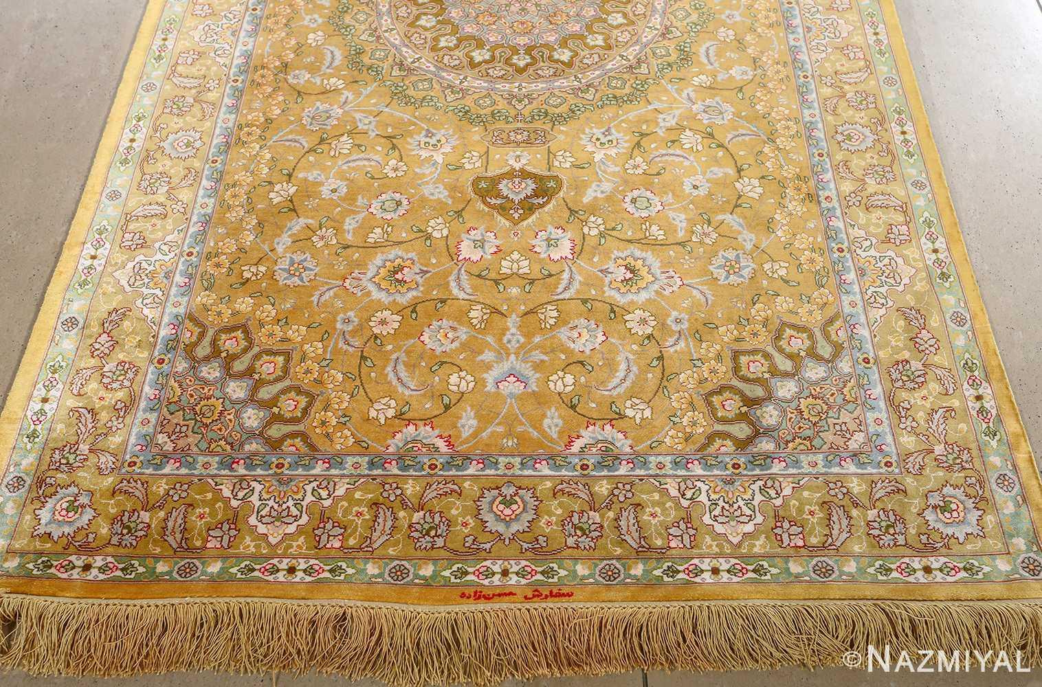 fine shahsavarpour design vintage tabriz persian rug 51044 lightside Nazmiyal