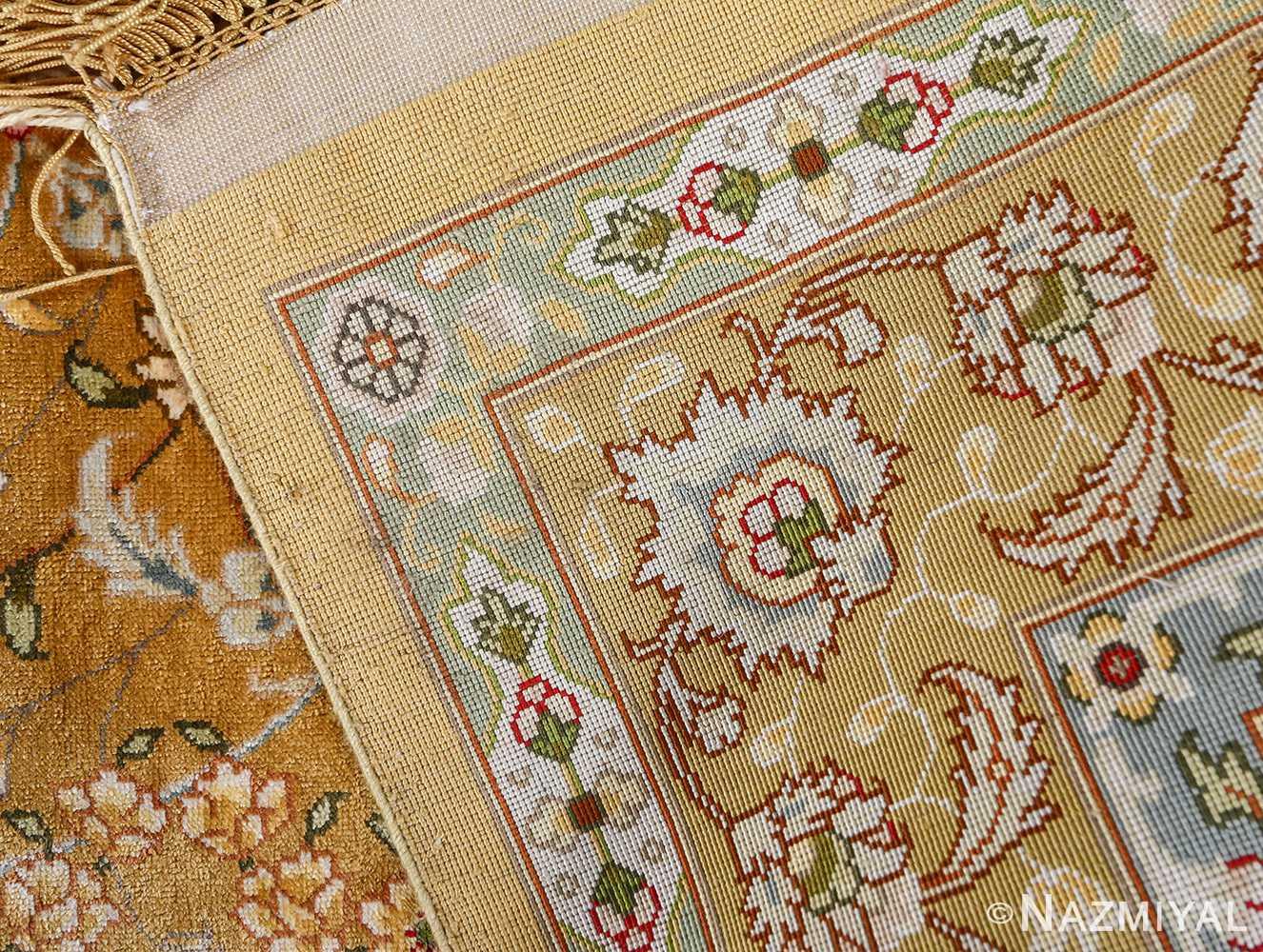 fine shahsavarpour design vintage tabriz persian rug 51044 weave Nazmiyal