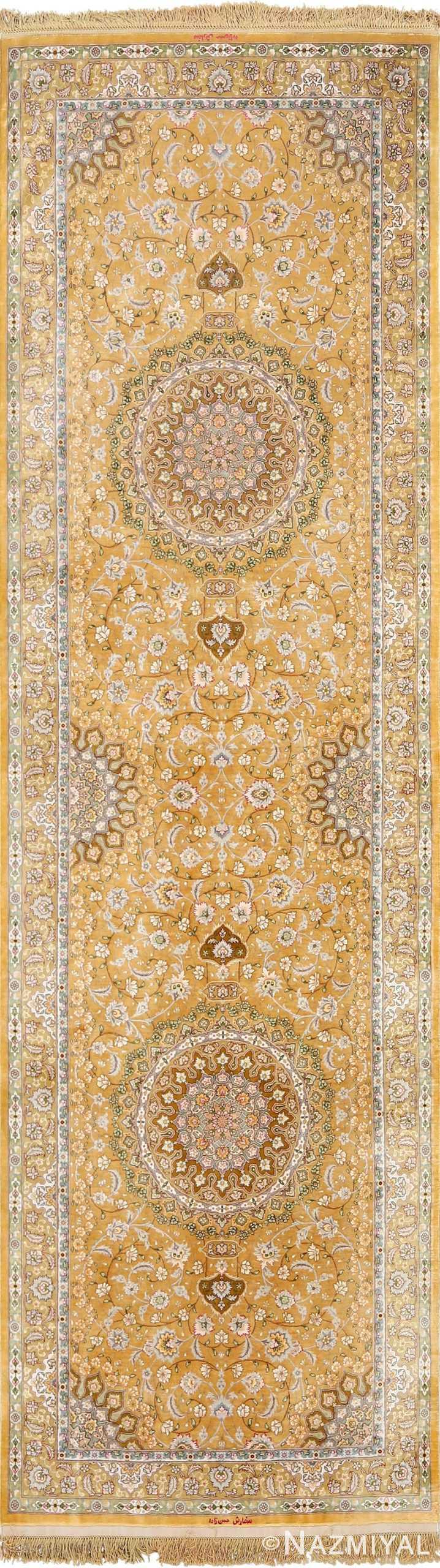 fine shahsavarpour design vintage tabriz persian rug 51044 Nazmiyal