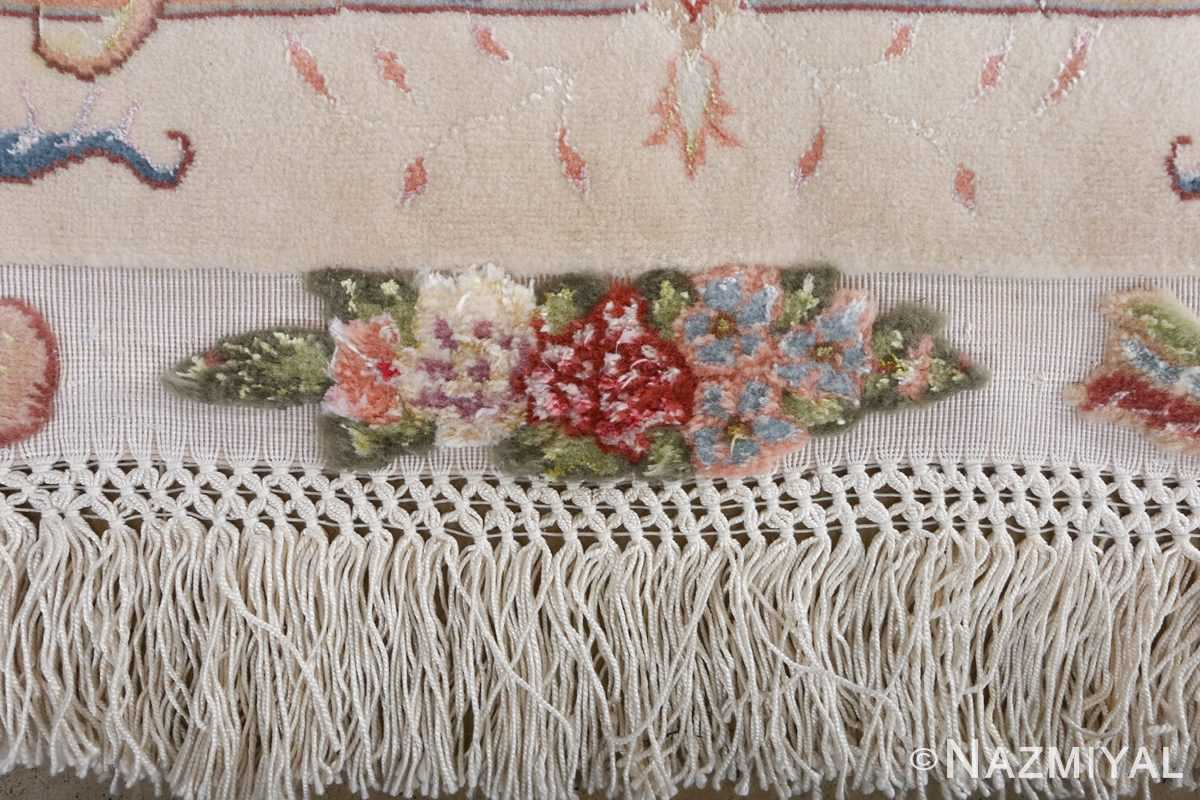 fine shirfar vintage tabriz persian rug 51029 nazmiyal border