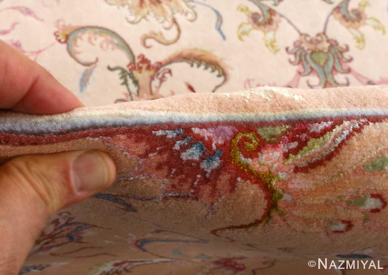 fine shirfar vintage tabriz persian rug 51029 nazmiyal pile