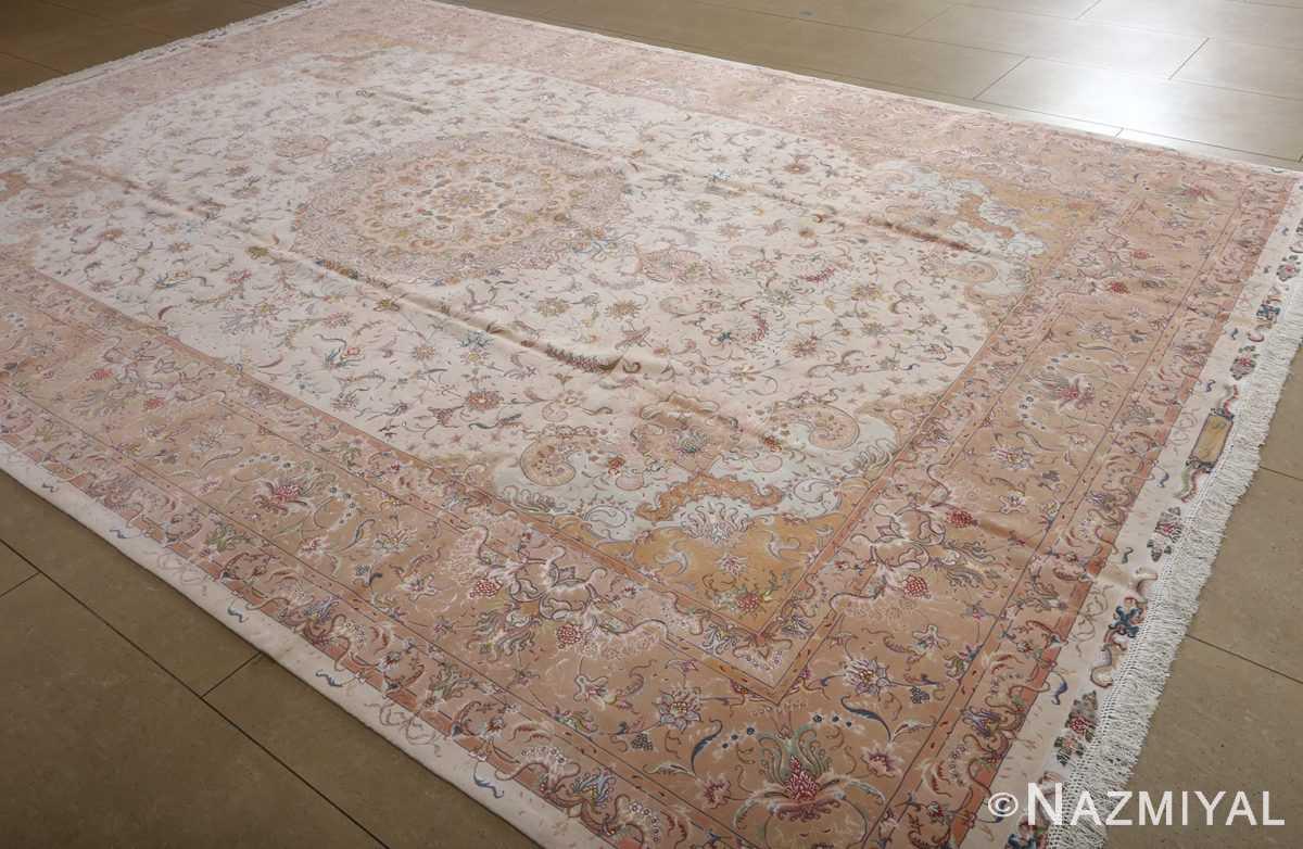 fine shirfar vintage tabriz persian rug 51029 Nazmiyal side