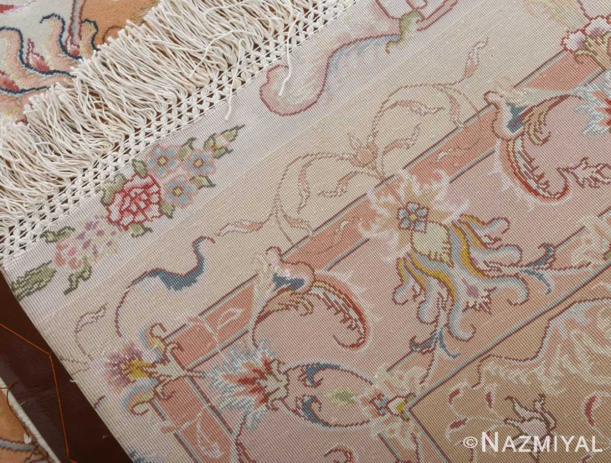 fine shirfar vintage tabriz persian rug 51029 nazmiyal weave