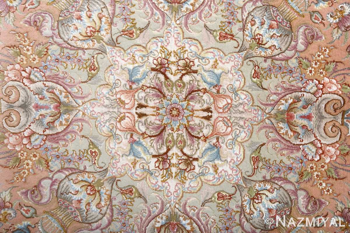 fine shirfar vintage tabriz persian rug 51034 center Nazmiyal