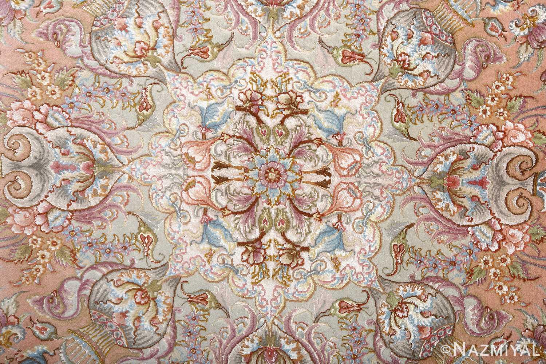 fine shirfar vintage tabriz persian rug 51034 center Nazmiyal