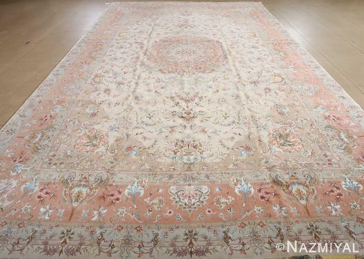 fine shirfar vintage tabriz persian rug 51034 full Nazmiyal
