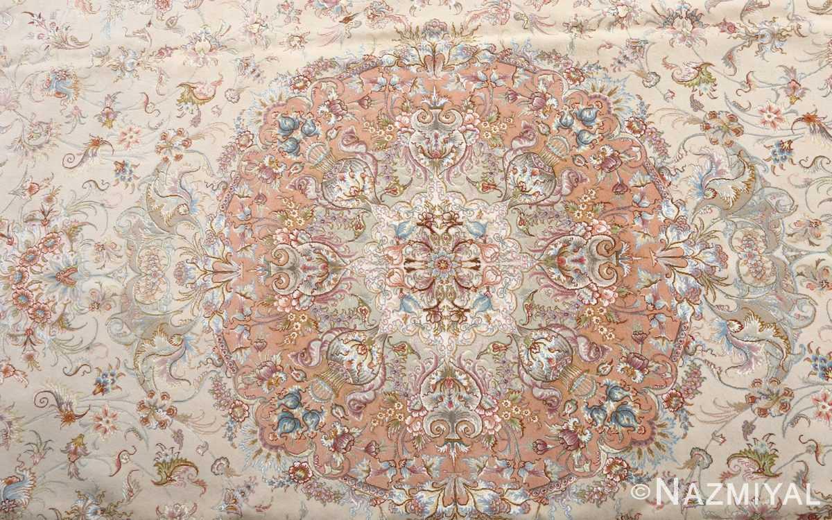 fine shirfar vintage tabriz persian rug 51034 medallion Nazmiyal