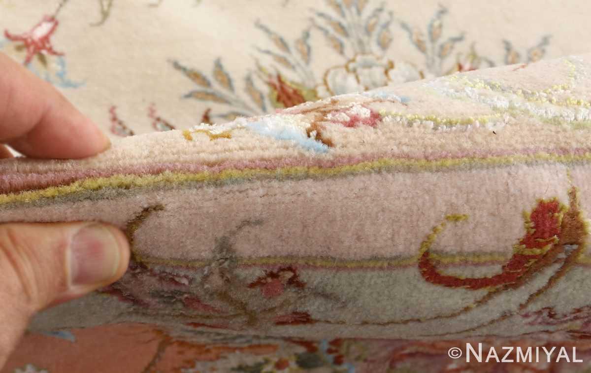 fine shirfar vintage tabriz persian rug 51034 pile Nazmiyal