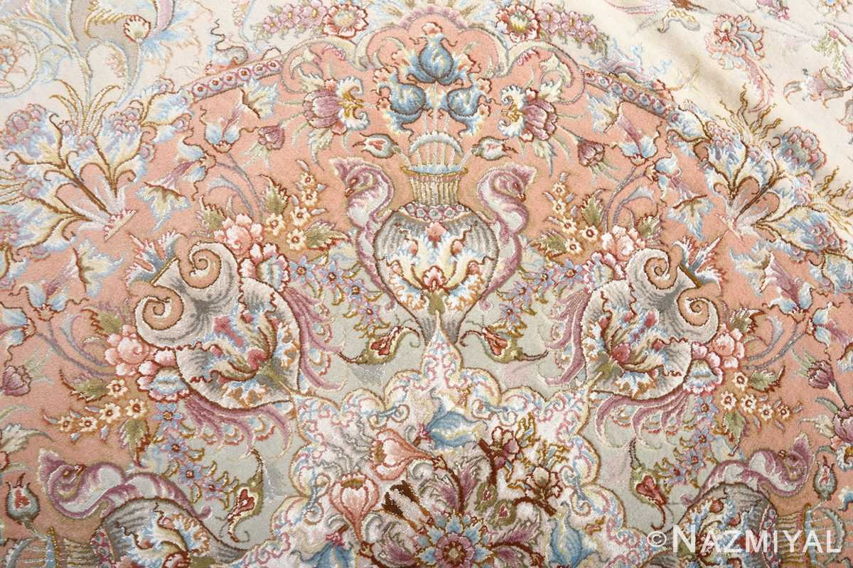 fine shirfar vintage tabriz persian rug 51034 top Nazmiyal