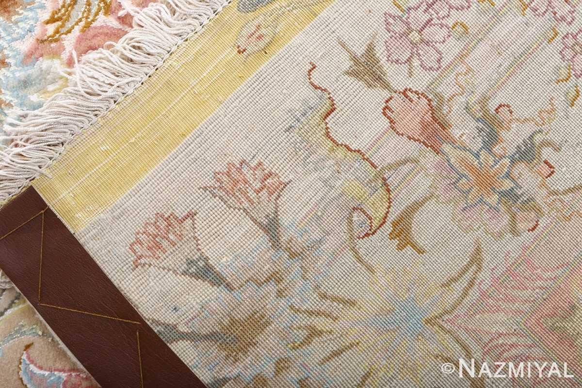 fine shirfar vintage tabriz persian rug 51034 weave Nazmiyal