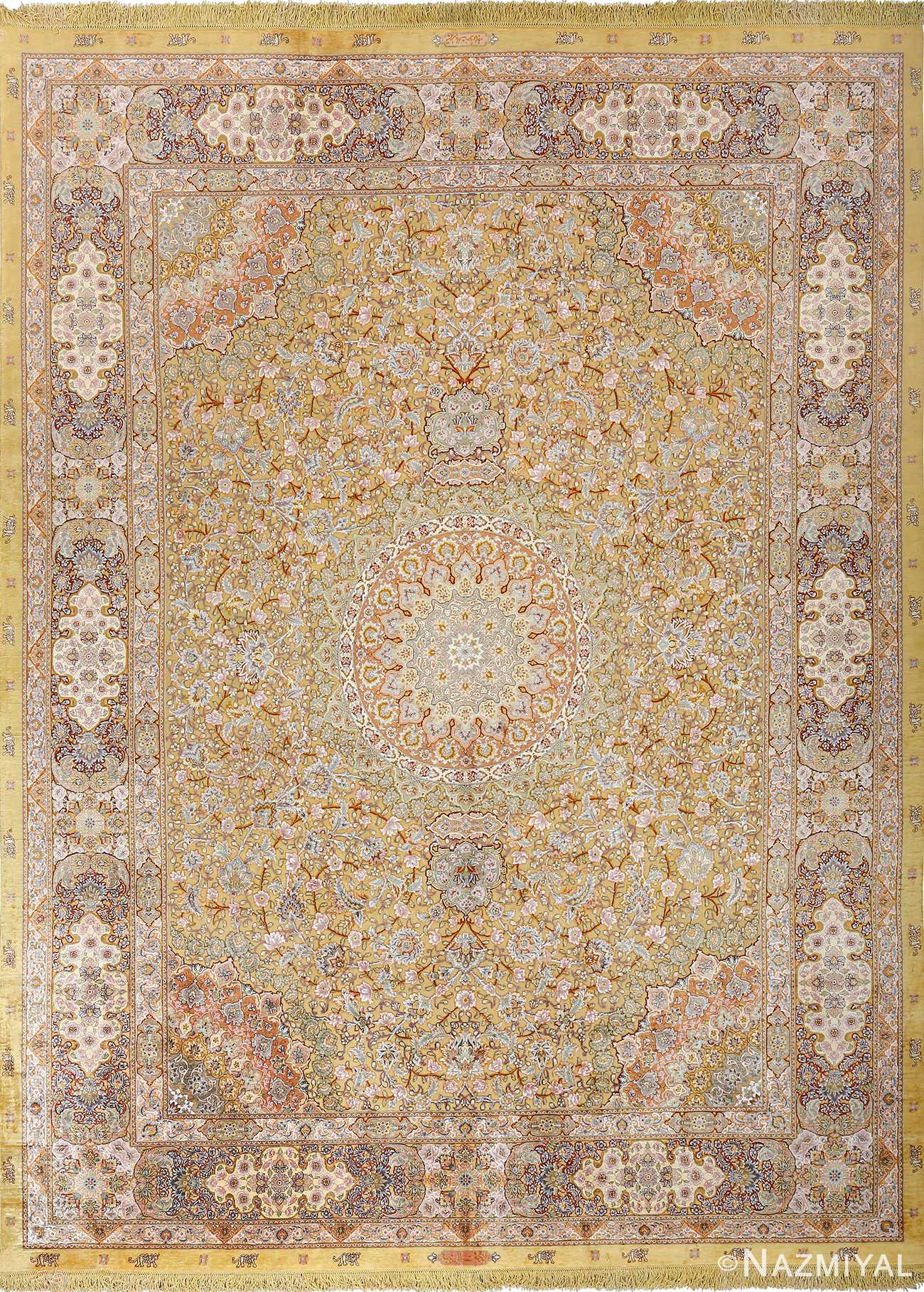 Very Fine Vintage Tabriz Persian Rug 51056 By Nazmiyal