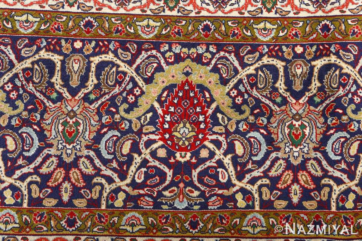 fine vintage tabriz persian rug 51041 nazmiyal border