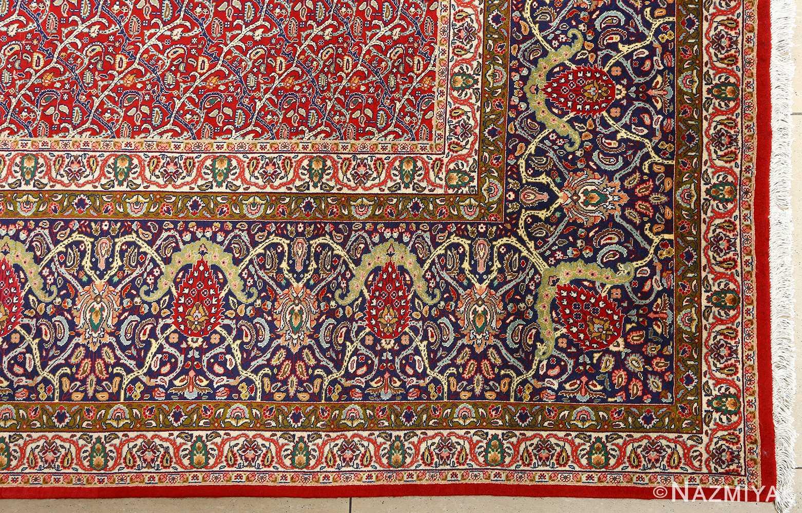 fine vintage tabriz persian rug 51041 nazmiyal corner