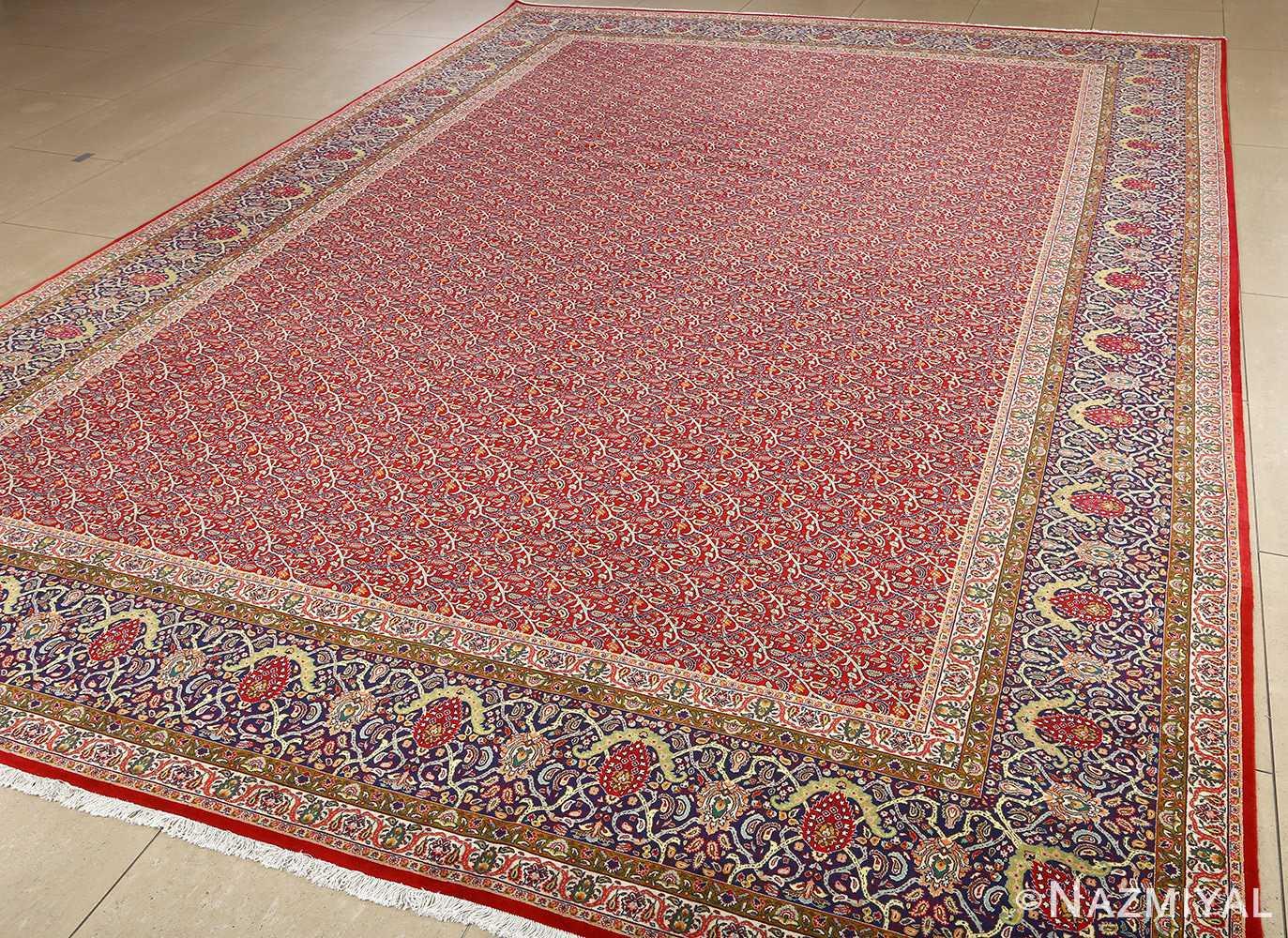 fine vintage tabriz persian rug 51041 nazmiyal side