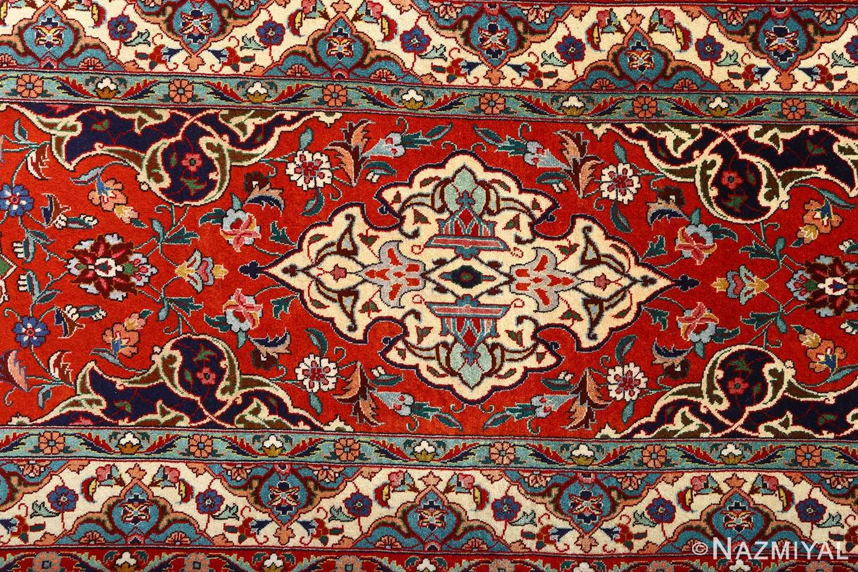 fine zohreh design vintage tabriz persian rug 51047 design Nazmiyal