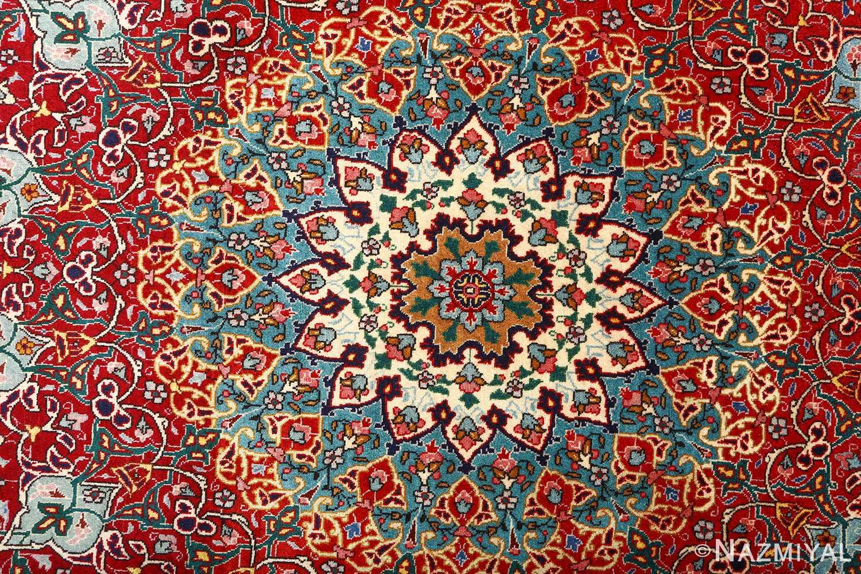 fine zohreh design vintage tabriz persian rug 51047 slimi Nazmiyal