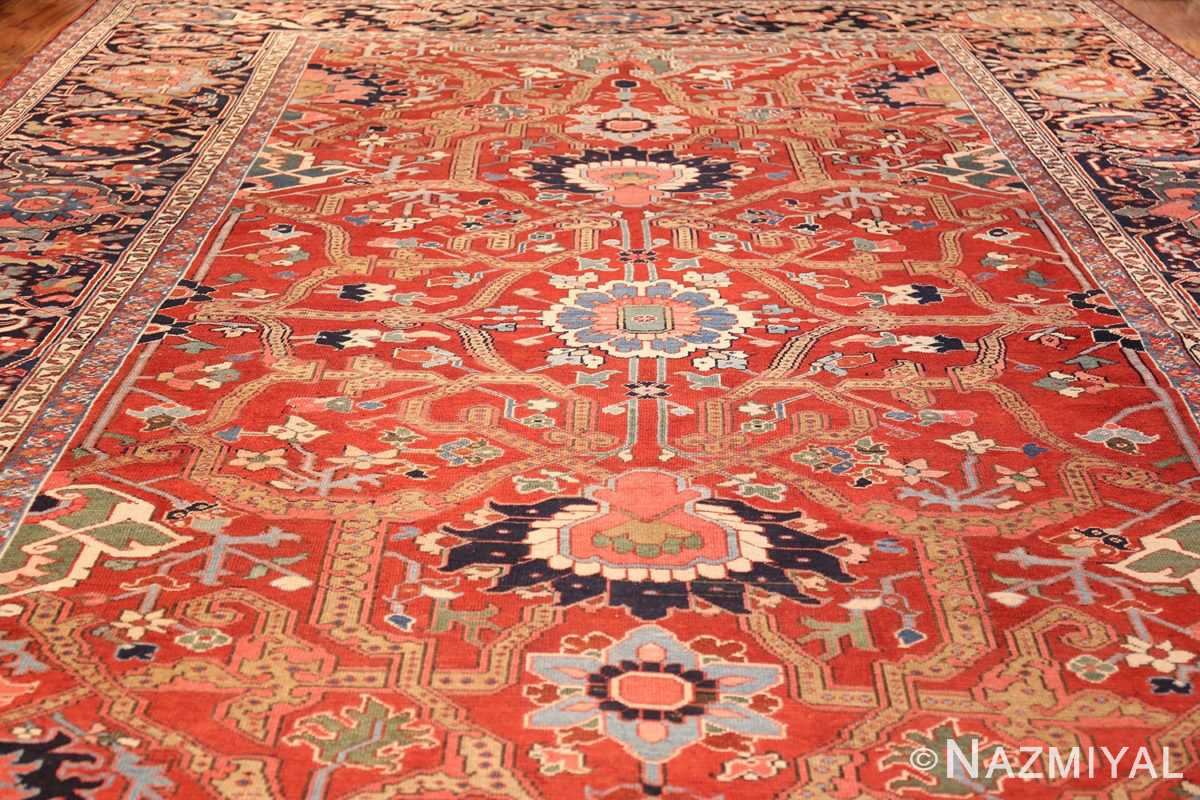 large antique serapi persian rug 49007 full Nazmiyal