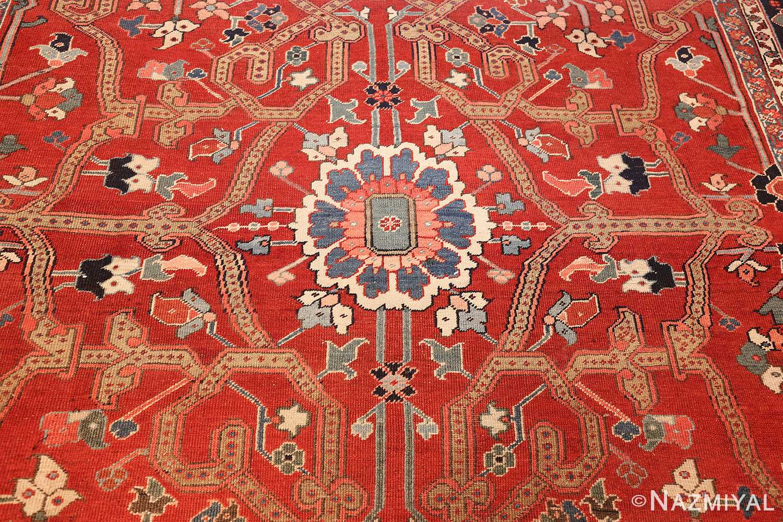 large antique serapi persian rug 49007 middle Nazmiyal