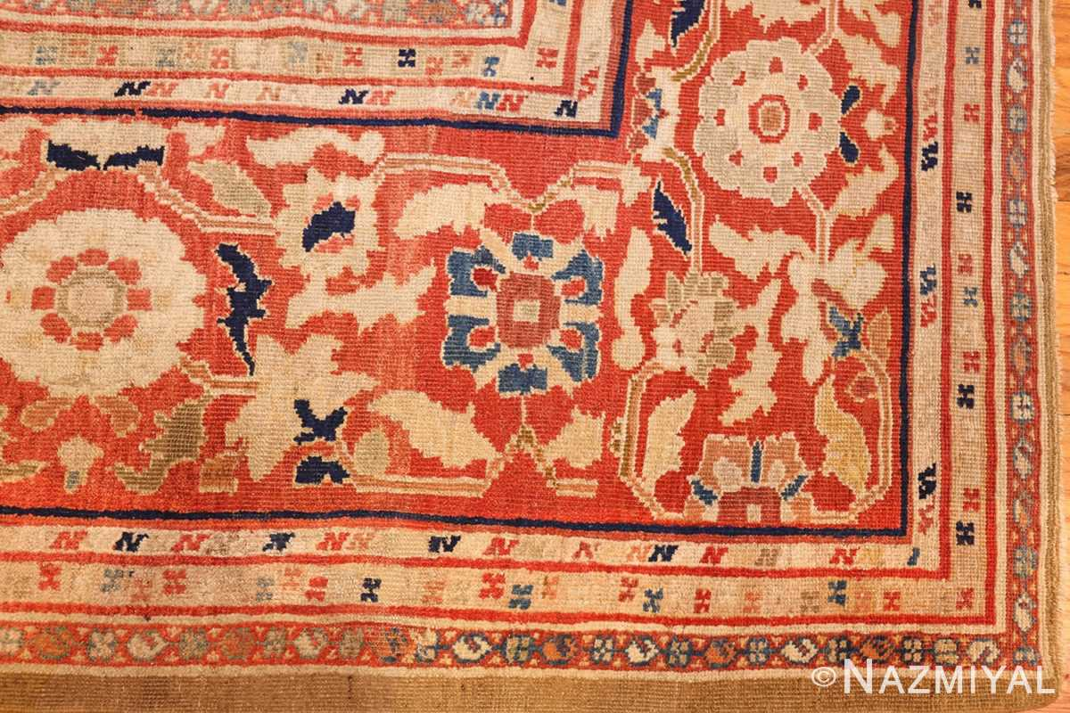 large antique zigler sultanabad persian rug 49002 corner Nazmiyal
