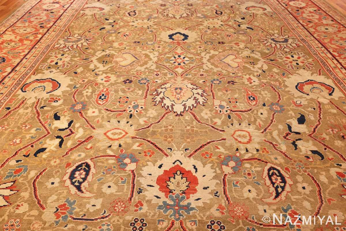 large antique zigler sultanabad persian rug 49002 field Nazmiyal