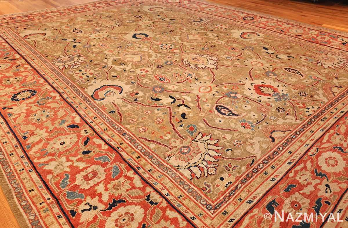 large antique zigler sultanabad persian rug 49002 side Nazmiyal