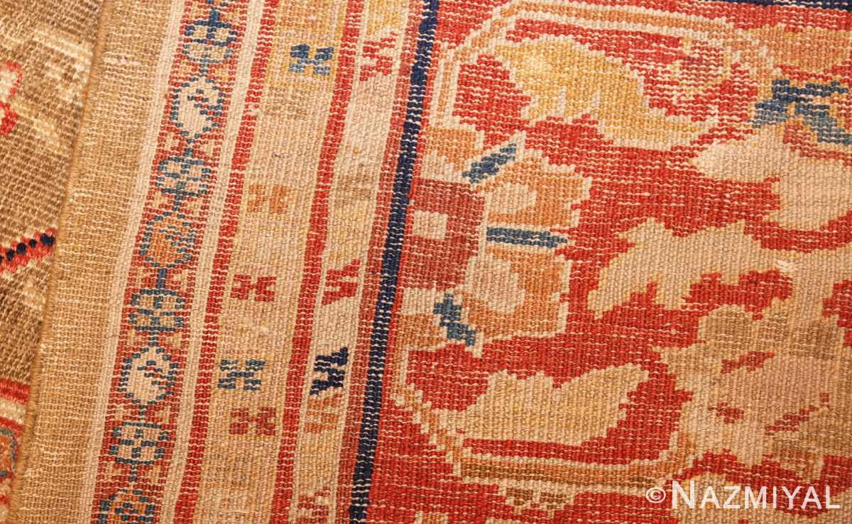 large antique zigler sultanabad persian rug 49002 weave Nazmiyal