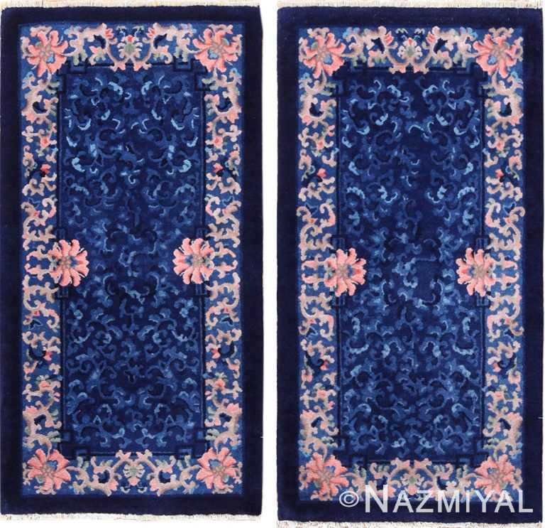 pair of antique chinese rugs 49241 Nazmiyal